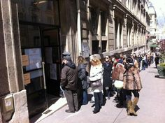 April 22, 2012: French citizens vote in the first round of the country's presidential elections.
