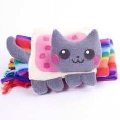 It's a Nyan cat scarf! OMG!