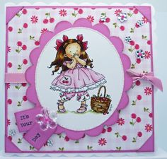 Hobby House Mo Manning Cherry Kisses by Hazel Cherry Kiss, Hobby House, Mo Manning, Kisses, Decorative Plates, Card Making, House Design, Card Ideas, Stamps