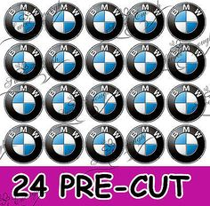 24 bmw car precut #edible #wafer rice #paper cupcake toppers football cake,  View more on the LINK: 	http://www.zeppy.io/product/gb/2/231597306637/
