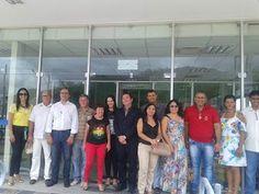 NONATO NOTÍCIAS: ITIUBA: GERENTE REGIONAL DO INSS VISITA AGENCIA LO...