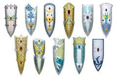 High Elf Shields