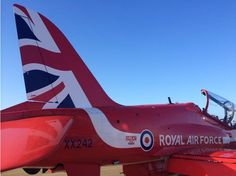 The Red Arrows, 2015. New tailfin.