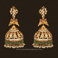 Gold-jhumka-designs-with-weight-and-price-3.jpg (700×700)