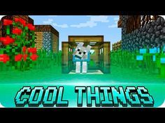 Minecraft - 8 Cool Things to Make in 1.9 Minecraft (Details / Furniture) - YouTube