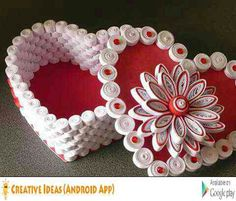 Arts And Crafts Style Paper Quilling Tutorial, Quilled Paper Art, Paper Quilling Designs, Quilling Paper Craft, Quilling Jewelry, Quilling Craft, Quilling Flowers, Quilling Patterns, Paper Basket Weaving