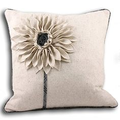 Paoletti Clyde Applique Flower Cushion Cover, Natural/Grey, 45 x 45 Cm Paoletti http://www.amazon.co.uk/dp/B0080PBGNM/ref=cm_sw_r_pi_dp_jkP8wb1TXQFCW