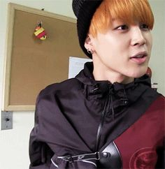 Park Jimin The Beautiful Archer. 1/2 //// Look at his smile when he laughs, OMFGGG.