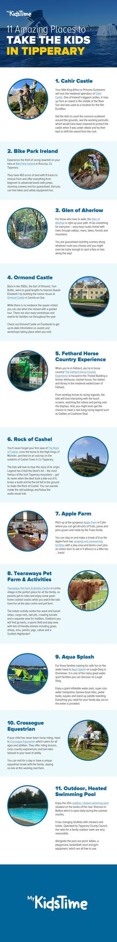 There is a wealth of family friendly activities and things to do in Tipperary in Ireland's Ancient East From castles to bike parks, equine adventures to fun on the water. Stuff To Do, Things To Do, Bike Parking, Farms, Castles, Wealth, Ireland, Tourism, Activities