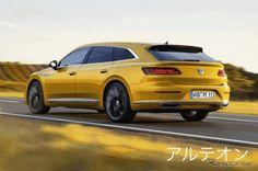【新車スクープ】新型「フォルクスワーゲン アルテオン」VW初のシューティングブレーク!旗艦サルーン「アルテオン」に設定へ 写真・画像