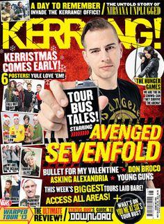 Avenged Sevenfold, historias durante el tour, en la nueva Kerrang!