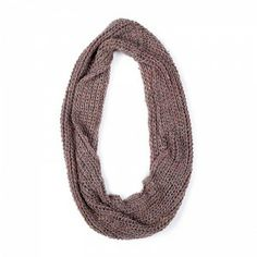 Melange Brown Knitted Fullah Sugah Snood #knitted #infinity #scarf Winter Is Coming, Infinity, Brown, Fashion, Infinite, Fashion Styles, Fashion Illustrations, Chocolate, Trendy Fashion