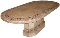 Illusion Mosaic Stone Tile Table Top