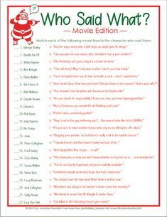 printable in 2020 Fun christmas games, Holiday party