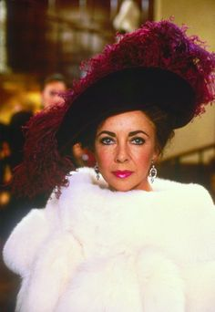"Elizabeth Taylor - ""Malice in Wonderland"" (1985).......Uploaded By www.1stand2ndtimearound.etsy.com"