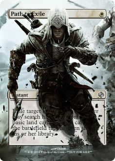 Magic The Gathering Path to Exile Proxy