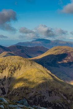 High Crag from Pillar - Lake District, England by moonsurf