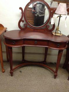 Pulaski Edwardian Wood Makeup Vanity Table For The Home