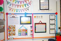 LOVE this cohesive classroom design!