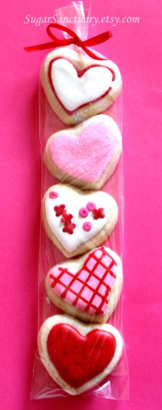 #Valentine's Day #heart Cookies ToniK ℬe Meℜℜy #baking
