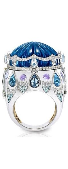 Fashion*Jewellery*Modern | Rosamaria G Frangini ||  Gorgeous Ring No. 6-Circus Ring by Italian Jewellery Design