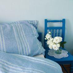 lněné povlečení PODZIMNÍ RÁNO / Zboží prodejce siska111   Fler.cz Blanket, Bed, Home, Stream Bed, Ad Home, Blankets, Homes, Beds, Cover
