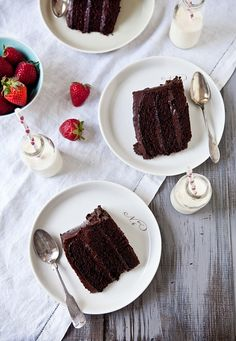 Double Trouble Chocolate Cake by tartelette, via Flickr