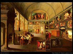 Interno di galleria, Frans Francken
