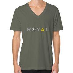Royal V-Neck (on man)