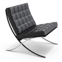 Mies van der Rohe Barcelona Chair Ludwig Mies Van Der Rohe Background: One of the most celebrated Modernist designers and architects, Mies van der Rohe's contributions are vast. After succeeding Walter Gropius as director of the Bauhaus, Mies emigrated from Germany to the U.S., where he designed such legendary structures as the Farnsworth House outside Chicago and the Seagram Building in New York.  Iconic Piece: The Barcelona Chair, originally designed as a seat for the king and queen of…