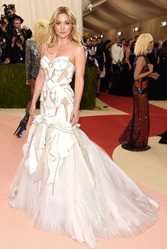 Kate Hudson in an Atelier Versace gown with Giuseppe Zanotti shoes See All the Best Looks from the 2016 Met Gala Red Carpet - Kate Hudson  - from InStyle.com