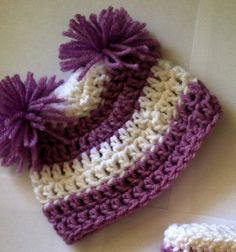 crochet beanie pattern all sizes free pattern