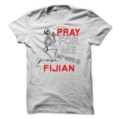Pray Fijian T Shirts, Hoodies, Sweatshirts. CHECK PRICE ==► https://www.sunfrog.com/LifeStyle/Pray-Fijian.html?41382