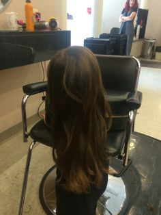 Little girl long layered haircut