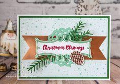 Stampin' Up! UK Feeling Crafty - Bekka Prideaux Stampin' Up! UK Independent Demonstrator: Meet Christmas Pines from Stampin' Up! UK
