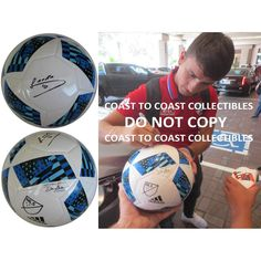 Mauro Diaz, FC Dallas, Argentine, Signed, Autographed, MLS Soccer Ball, a Coa with the Proof Photo of Mauro Signing the Ball Will Be Included