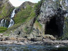 """""""I've been trawling through photos and came across this one of the intriguing Black Cave on Bennan Head, Isle of Arran. Seeing this reminds me it's almost worth slowly repeating my trip around Scotland so I can explore these fascinating sites. Isle Of Arran, Cave, Scotland, Explore, Twitter, Photos, Outdoor, Black, Outdoors"""