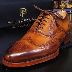 PAUL PARKMAN MEN'S WINGTIP OXFORD