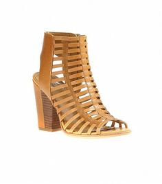 DV by Dolce Vita Caged Sandal ($119) in Tan Leather