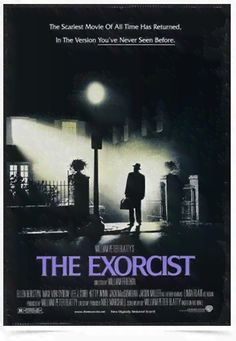 Poster Cinema Filme The Exorcist - Comprar em Decor10