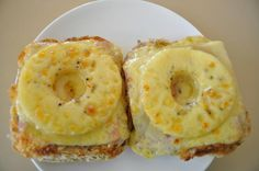 Toast Hawaii - Open Faced Sandwich for a Snack or Dinner. Toast Hawaii is to Germans as Grilled Cheese is to Americans. Universally understood, you could order this little snack in any restaurant, even if not on the menu.