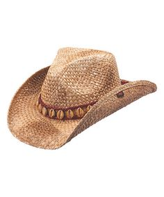 74d4d779013 Take a look at this Brown Meadow Cowboy Hat on zulily today! Western Hats