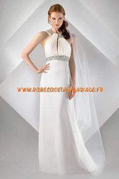 Bari Jay White Robe de Mariée - Style 69930