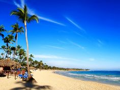 Punta Cana, Dominican Republic - crossing my fingers, I'll be there in one month!