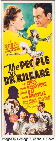 Movie Posters:Drama, The People vs. Dr. Kildare (MGM, 1941). Insert (14...