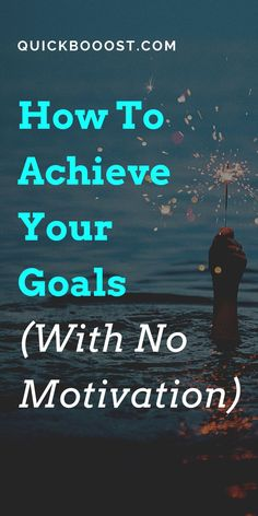 Motivation is great, but you can't rely on it to help you achieve your goals. Instead, when it comes to goal setting you need a consistent, reliable system. #goals #goalsetting #motivation Productive Things To Do, Things To Do When Bored, Productive Day, Things To Come, Achieving Goals, Achieve Your Goals, Day Schedule, Good Time Management, Lack Of Motivation
