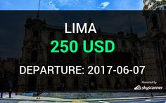 Flight from Miami to Lima by Interjet #travel #ticket #flight #deals   BOOK NOW >>>