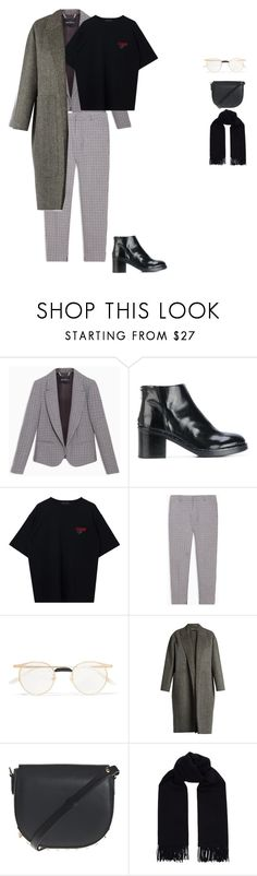 """""""Untitled #815"""" by shuura ❤ liked on Polyvore featuring Max&Co., Officine Creative, Gucci, Rochas, Alexander Wang and Acne Studios"""