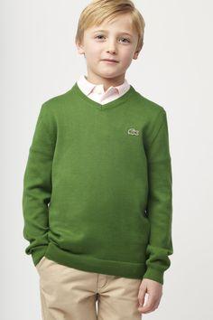 Lacoste cotton sweater