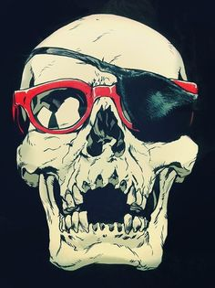 uuuh... undead hipster pirate?